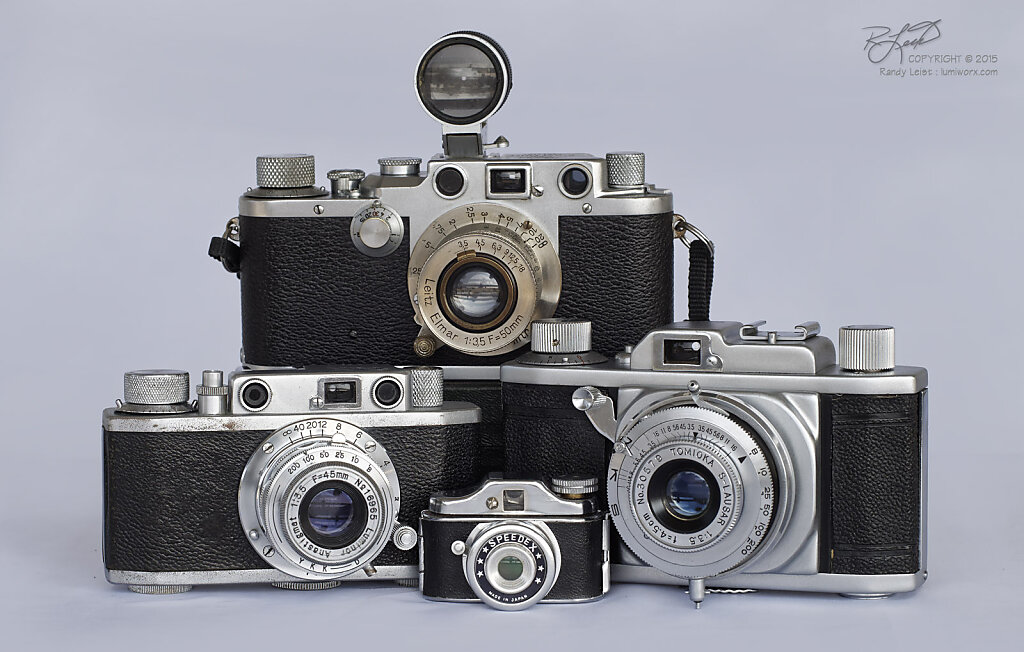 Leica  IIIc and some Look-a-likes