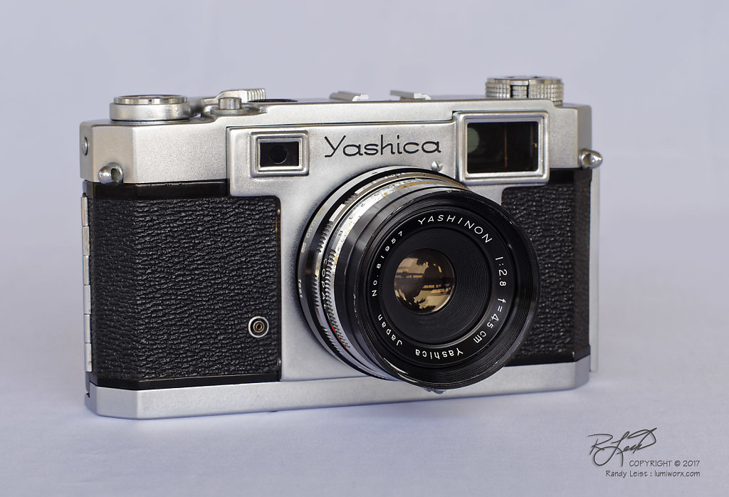 Yashica 35 Rangefinder w/ Yashinon 45mm f/2.8