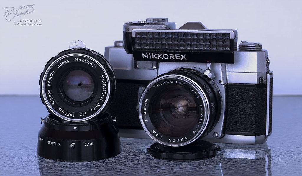 Nikkorex F #2 w/ Sekor Nikkorex 35mm lens