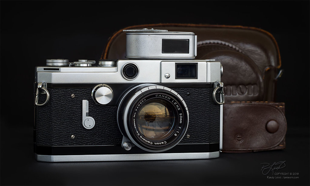 Canon VL2 Rangefinder w/50mm Serenar (v2) f/1.8 LTM