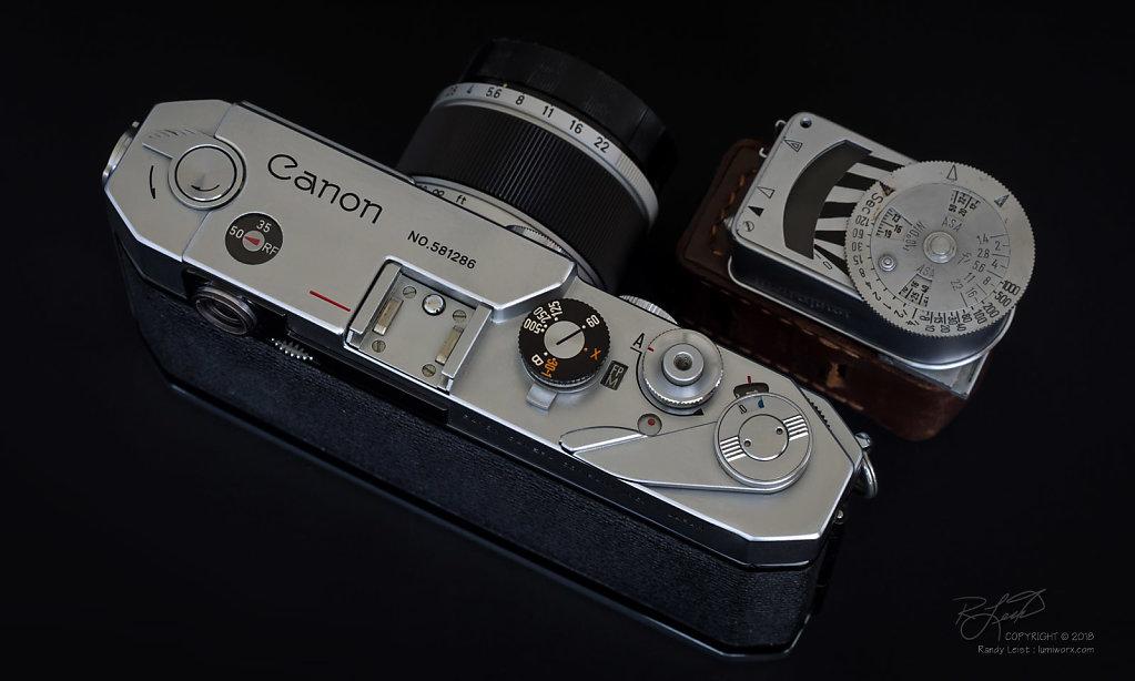 Canon VL2 w/50mm Serenar (v2) f/1.8 LTM