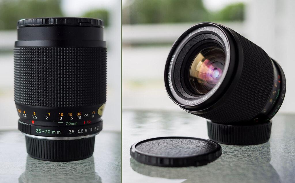 Yashica 35-70mm f/3.5