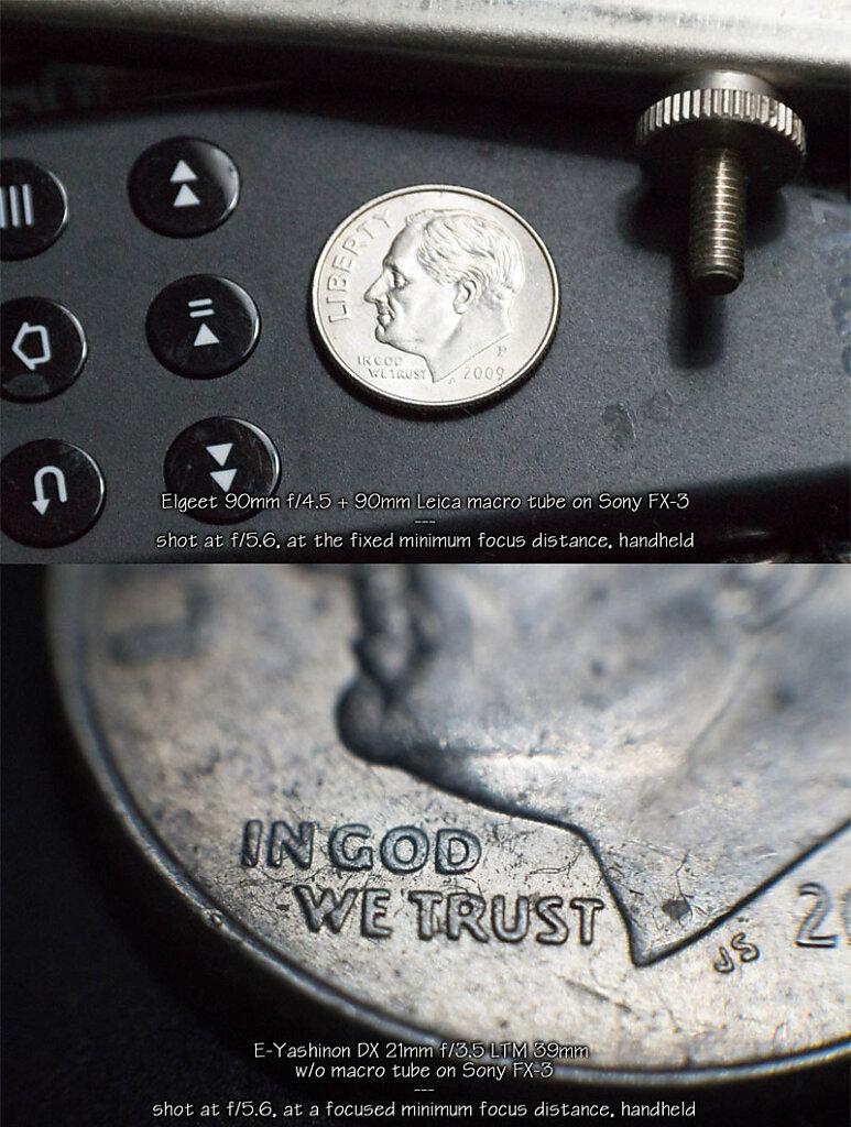 Compare the dimes