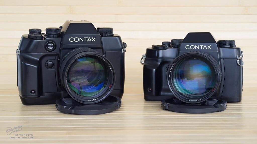 Contax AX w/ 85,1.4 MMG -vs- Contax RX w/ 85,1.4 AEJ