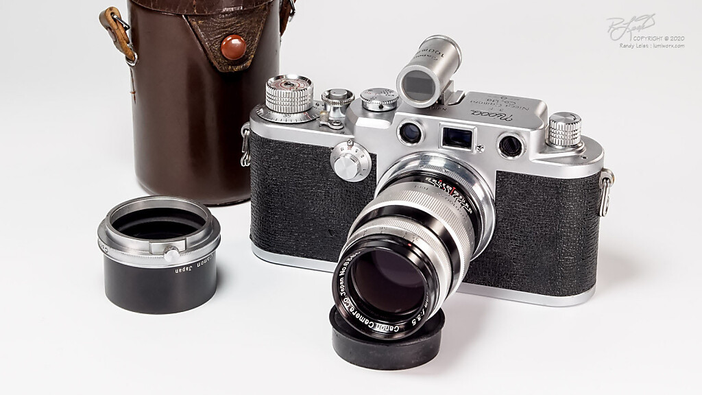 1956 Nicca 3-F w/ Canon 100mm f/3.5