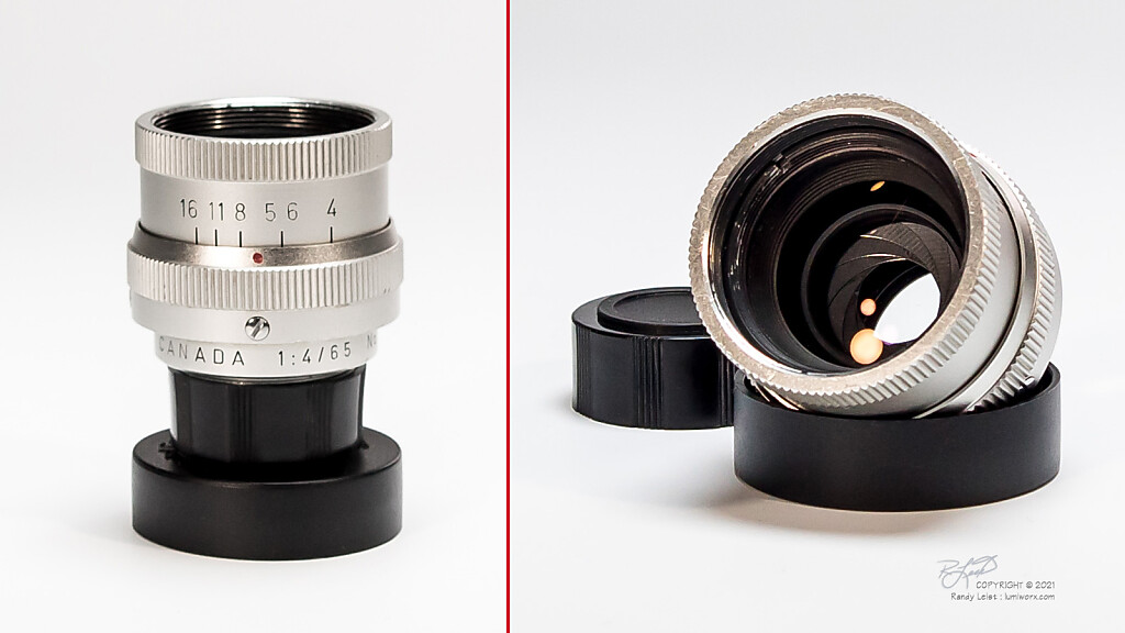 ELCAN Leitz Canada (Leica) 4/65mm Prototype